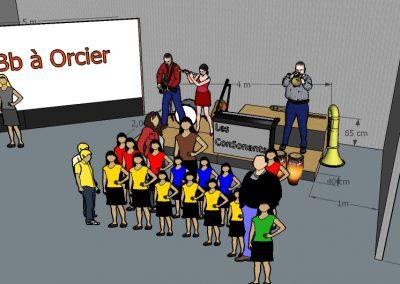 bBBb - plan scene Orcier